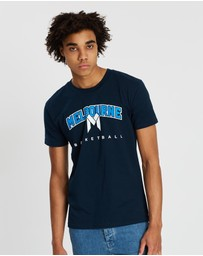 First Ever - NBL - Melbourne United #1 Dad T-Shirt