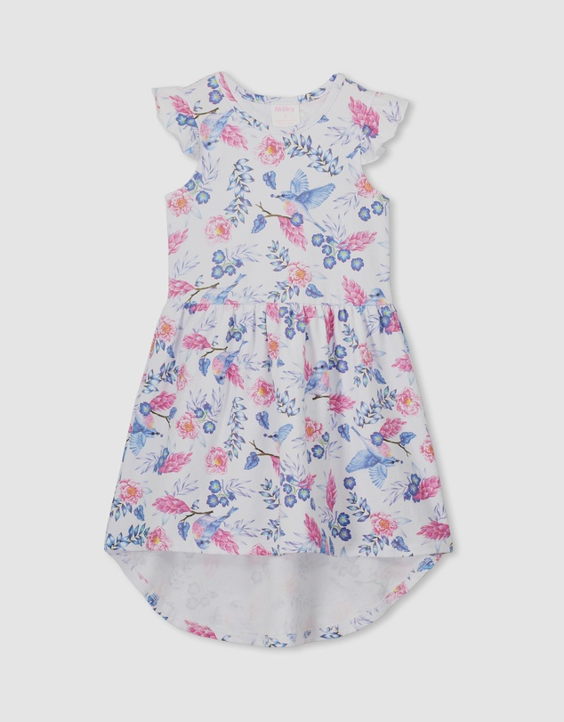 Milky - Floral Dress - Kids