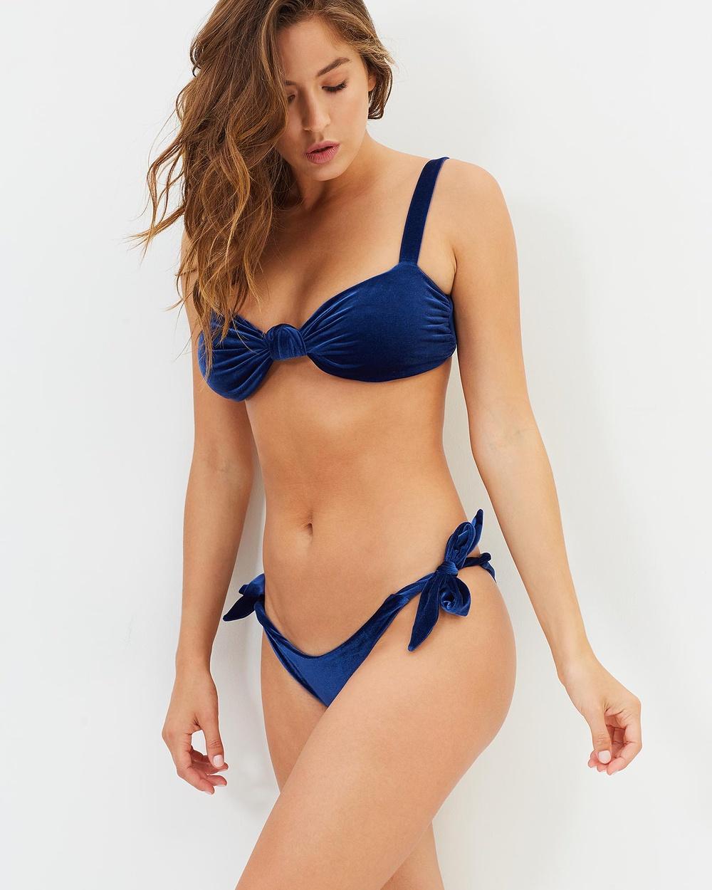 We The Dreamrs Ravello Bikini Bottoms Bikini Set Blue Ravello Bikini Bottoms