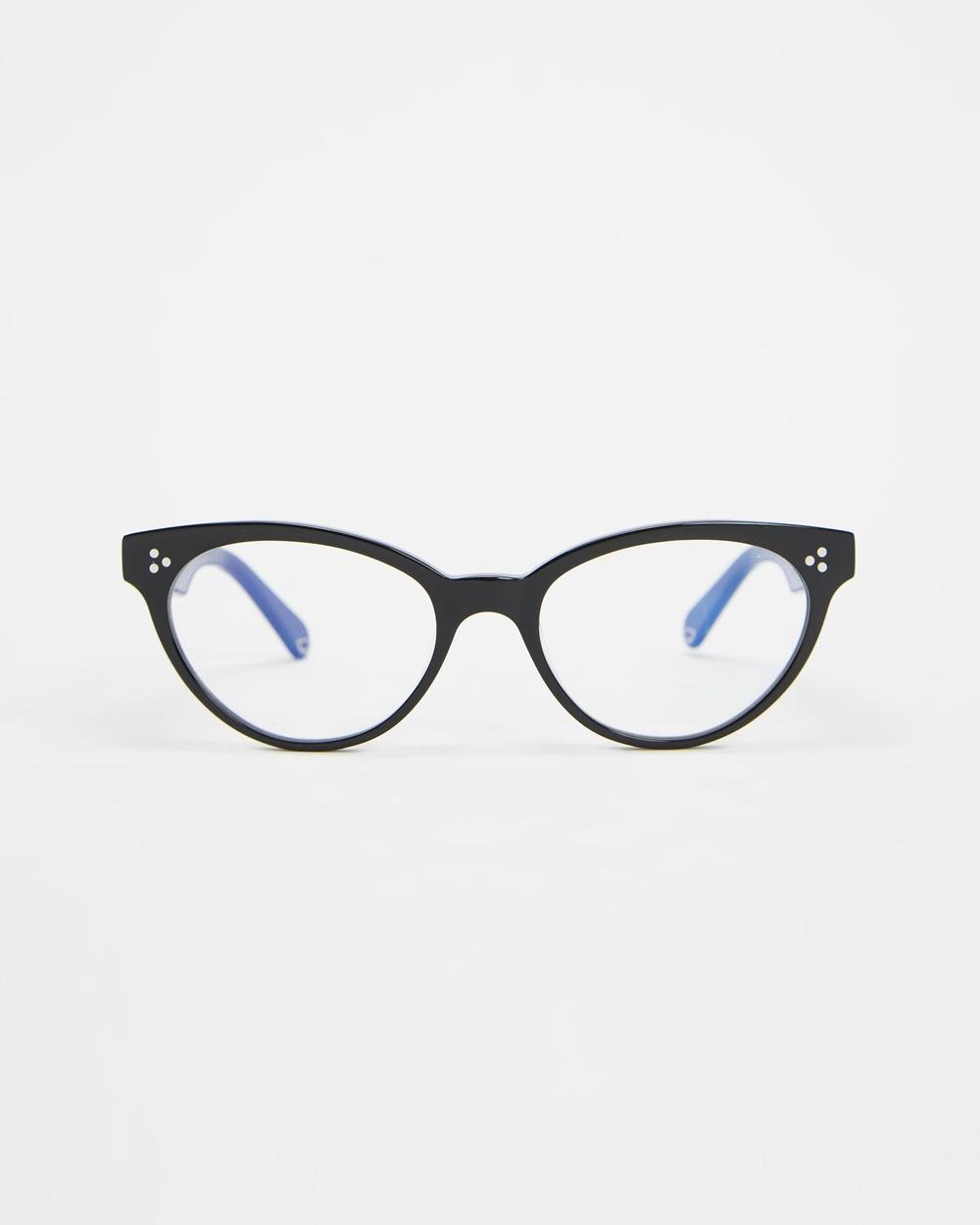 Pacifico Optical Francis Black & Blue Light Lenses