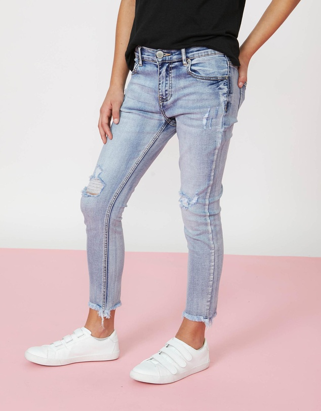 Kids Ella Distressed Jeans - Kids-Teens