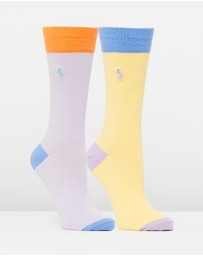 Polo Ralph Lauren - 2-Pack Oxford Socks