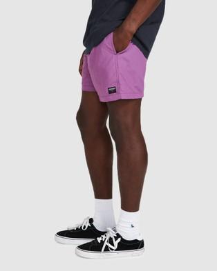 Spencer Project Kicker Shorts - Swimwear (PURPLE)