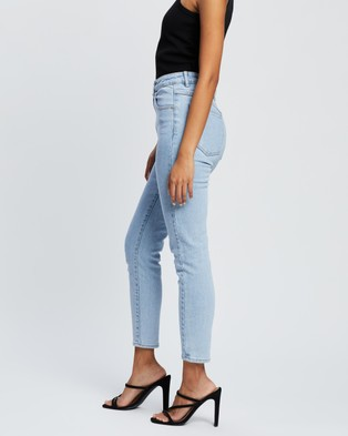 Abrand Petite A High Skinny Ankle Basher Petite Jeans - Crop (Walk Away)