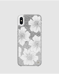 Kate Spade New York Full Clear Crystal Case for iPhone Xs Max