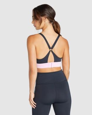Rockwear Topia Medium Impact Sports Bra - Sports Bras (BLACK)