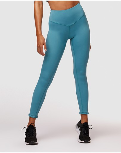 L'urv Silhouette 7/8 Leggings Teal