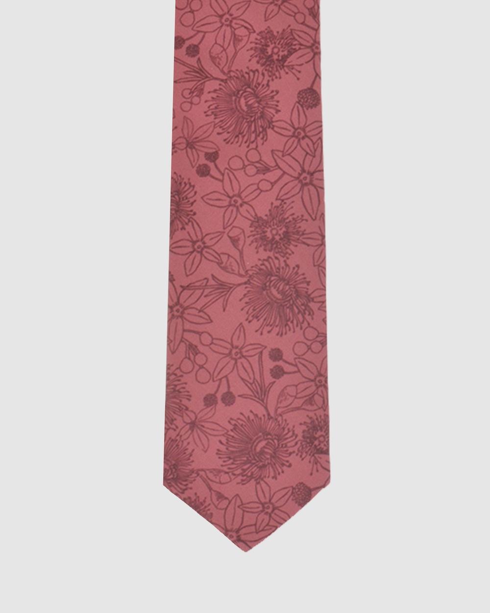 Peggy and Finn Wildflower Tie Ties Rose