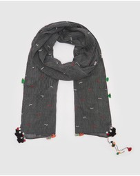 Arms Of Eve - Santiago Linen Scarf
