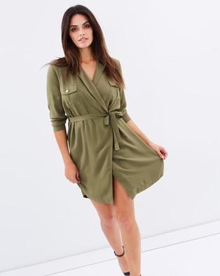 Atmos & Here – Revolution Utility Dress – Dresses (Khaki)