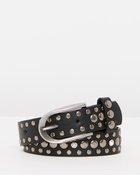 Thin Metallic Detail Belt