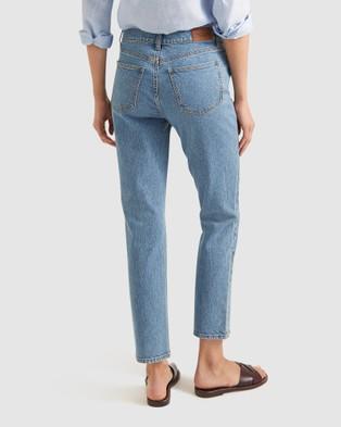 Sportscraft Brodie High Waist Jeans - Slim (blue)