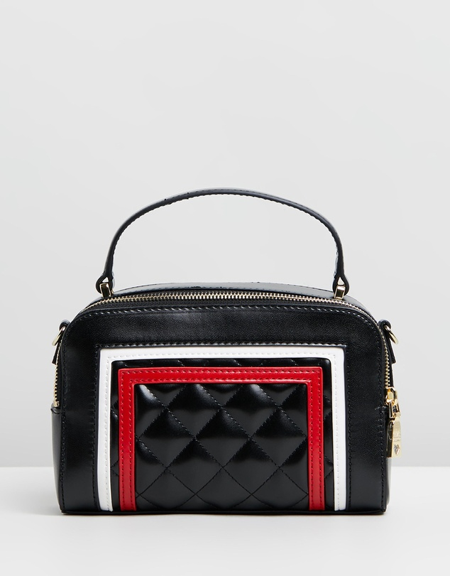 a4508c968bd Quilted Top Handle Bag by LOVE MOSCHINO Online | THE ICONIC | Australia