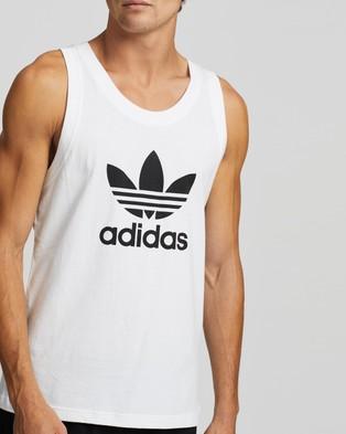 adidas Originals Trefoil Tank - Muscle Tops (White)