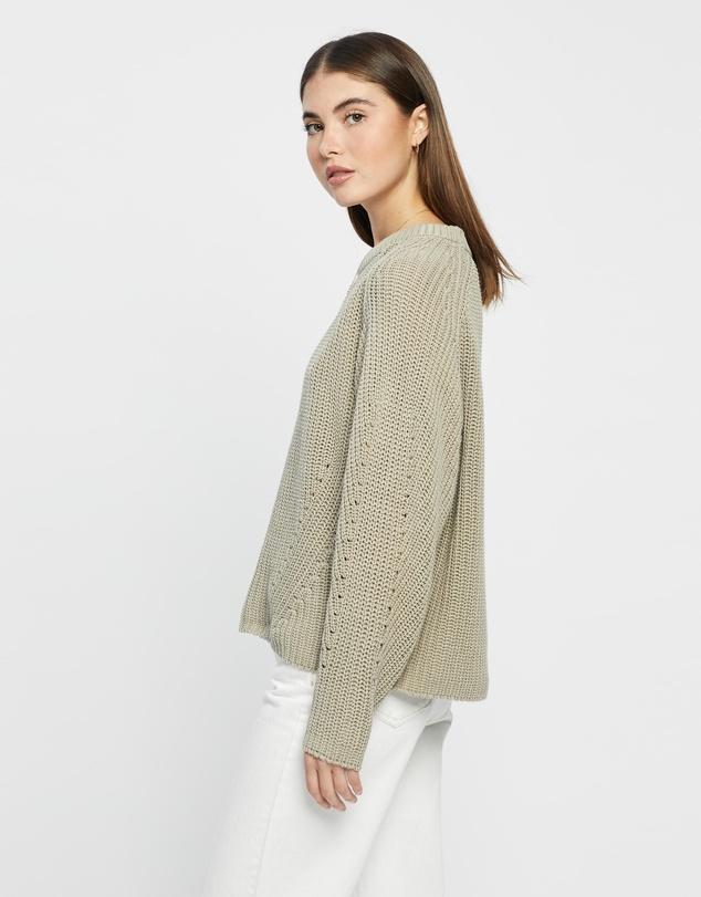 Women Dyan Washed Knit