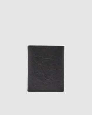 Fossil Neel Trifold Wallet - Wallets (Black)