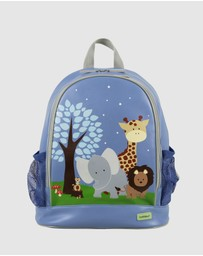 Bobbleart - Large Backpack Safari