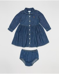Polo Ralph Lauren - Denim Shirt Dress - Babies