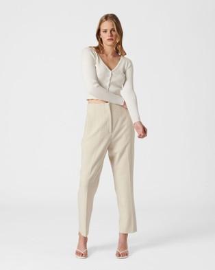 MVN Lakefield Cardigan - Jumpers & Cardigans (White)