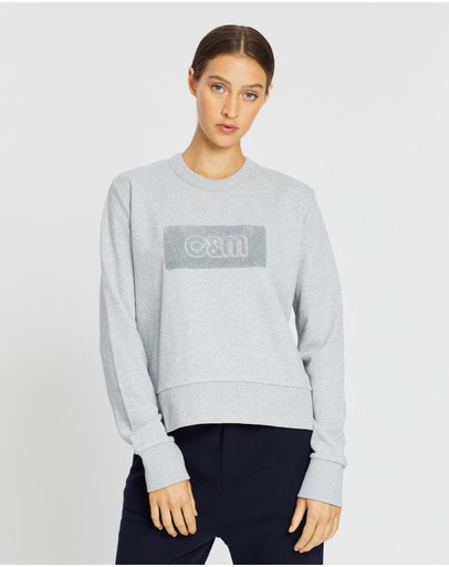 Urban Classics Pulli High Neck Pocket Crew Sweatshirt Pullover Sweat