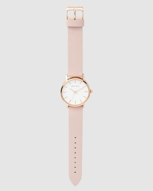TONY+WILL Small Classic - Watches (ROSE GOLD/WHITE/LT PINK)