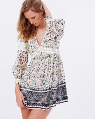 Free People – Cherry Blossom Mini Dress – Dresses (Ivory Combo)