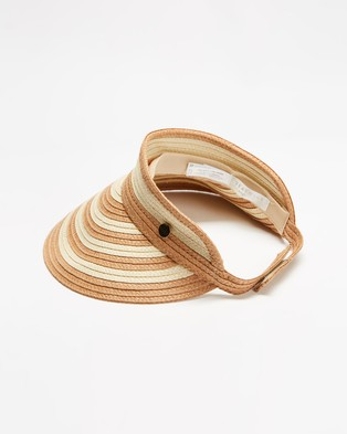 Seafolly Splice Visor - Visors (Natural)