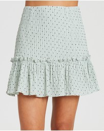 The Fated - Era Frill Hem Skirt