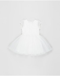 Bebe by Minihaha - Ruched Panel Dress - Kids