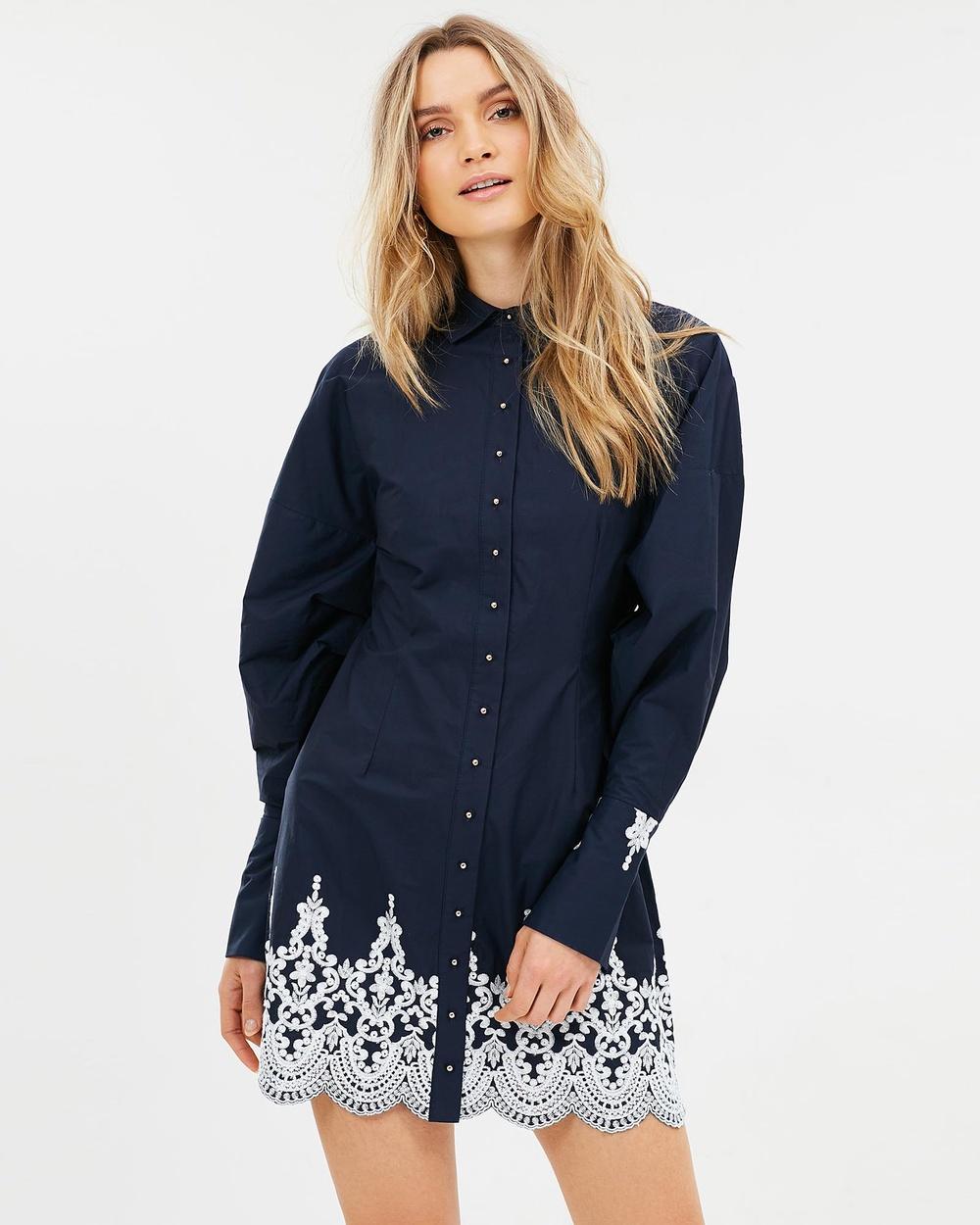 Elliatt Bridges Dress Dresses Ink Bridges Dress