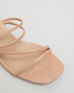 Billini Yukon - Mid-low heels (Blush Lizard)