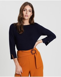Fine Knitted Lead In Jumper