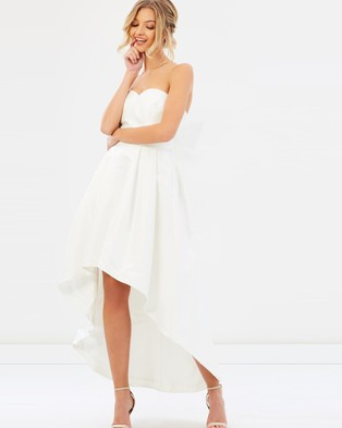 Chi Chi London – Bridal Katarina Dress – Bridesmaid Dresses (White)