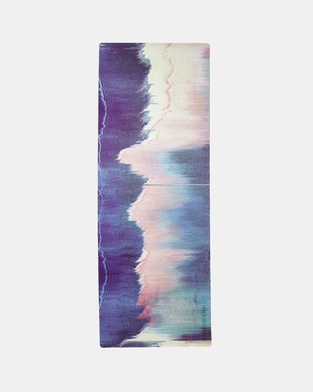 Bowern Yoga Mat Gym & Blue/Green