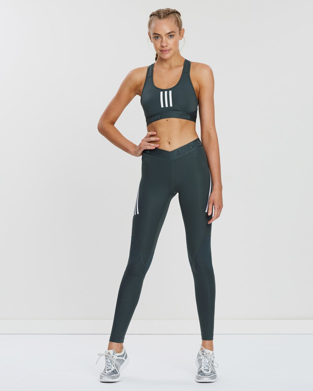 b00e015617bea Alphaskin Sport 3-Stripes Long Tights by adidas Performance Online | THE  ICONIC | Australia