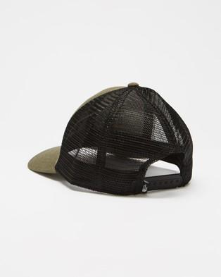 The North Face Mudder Trucker Cap - Headwear (Moss Green)
