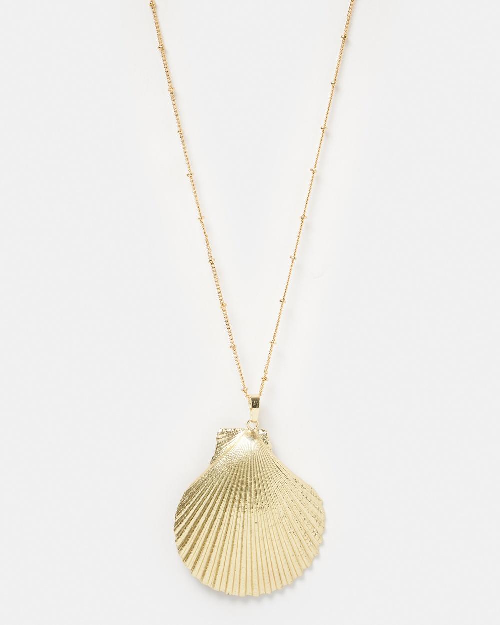 Miz Casa and Co Thalasso Necklace Jewellery Gold