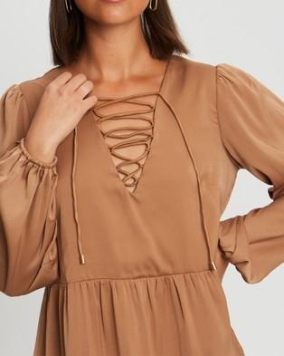 BWLDR Faithful Dress - Dresses (Tan)