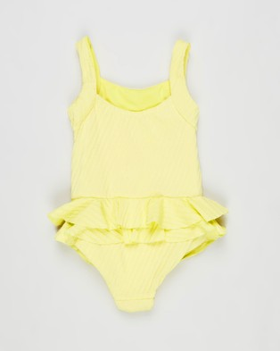 Little Fella Lil Oscar One Piece   Kids - One-Piece / Swimsuit (Lemoncello)