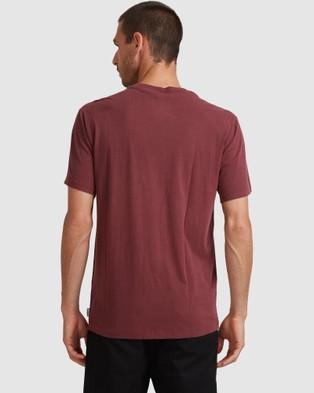 Element Plain Sail Short Sleev Tee - T-Shirts & Singlets (VINTAGE RED)