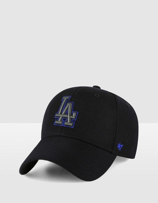 Men Los Angeles Dodgers Black Team Highlight '47 MVP Snapback