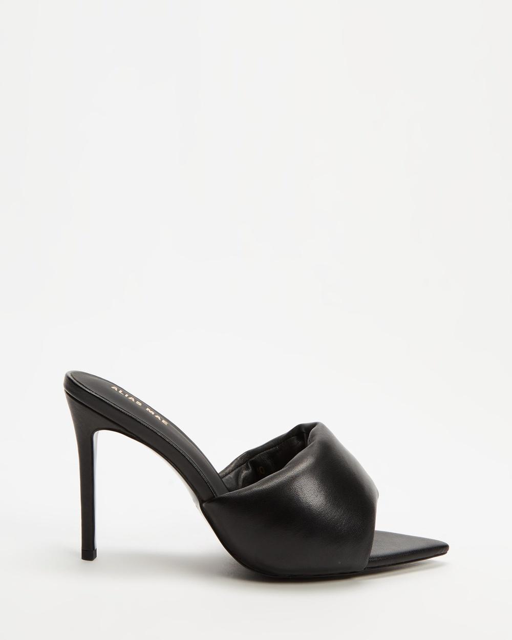 Alias Mae Dulce Heels Black Leather