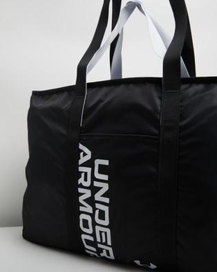 Under Armour UA Favourite Metallic Tote - Bags (Black & Halo Grey)