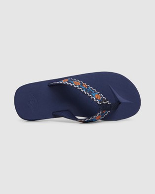 Billabong All Day Woven Thongs - Sandals (NAVY)
