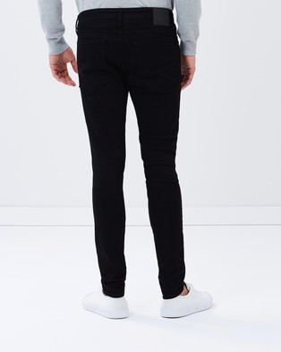 Jack & Jones Liam Jeans   Skinny Fit - Jeans (Black)