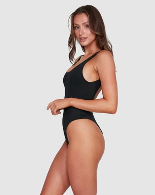 Billabong Sol Searcher Tanker Onepiece - One-Piece / Swimsuit (BLACK)