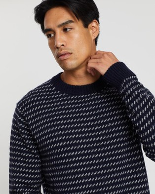 Patagonia Recycled Wool Sweater - Jumpers & Cardigans (Classic Navy)