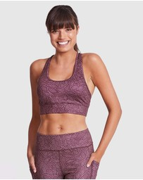 Dharma Bums - Day Dream Bra Racer Back Sports Bra - Day Dream