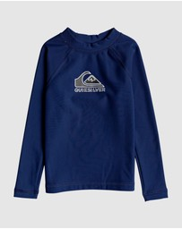 Quiksilver - Boys 2-7 Heater Long Sleeve UPF 50 Rash Vest
