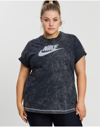 Nike - Plus Sportswear Rebel SS Top